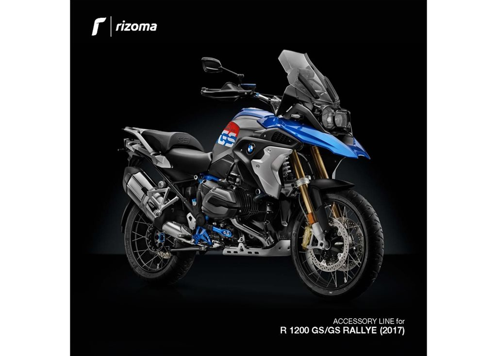 New Rizoma Products For The 2017 BMW R1200GS