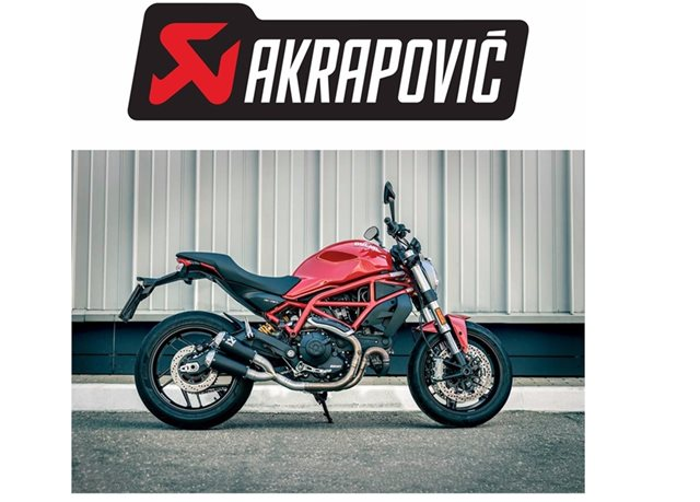 NEW AKRAPOVIC SLIP-ON KITS FOR THE 2017 DUCATI MONSTER 797