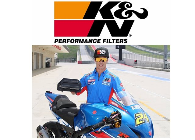 NEW K&N FILTERS FOR THE 2017 SUZUKI GSX-R 1000