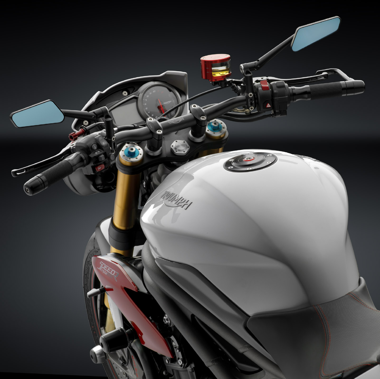 Speed Triple Street Triple Accessories And Parts From Akrapovic